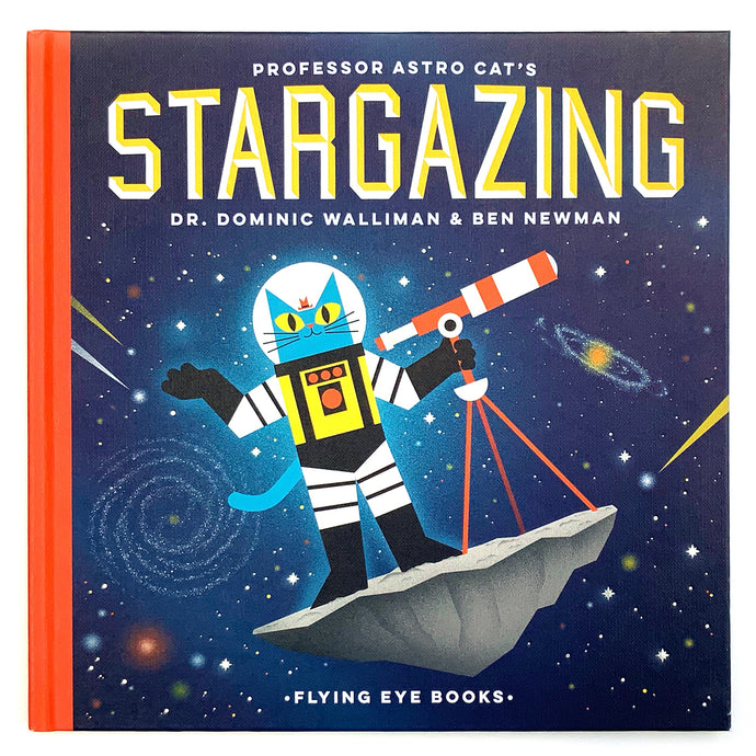 Professor Astro Cat's Stargazing - Children's Hardback Book