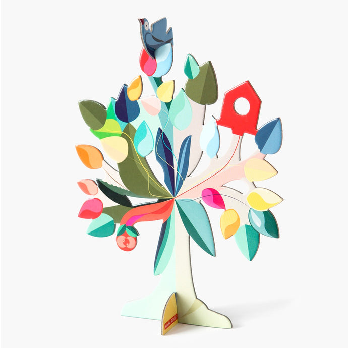 Studio Roof 3D Model Greeting Card - Dream Tree