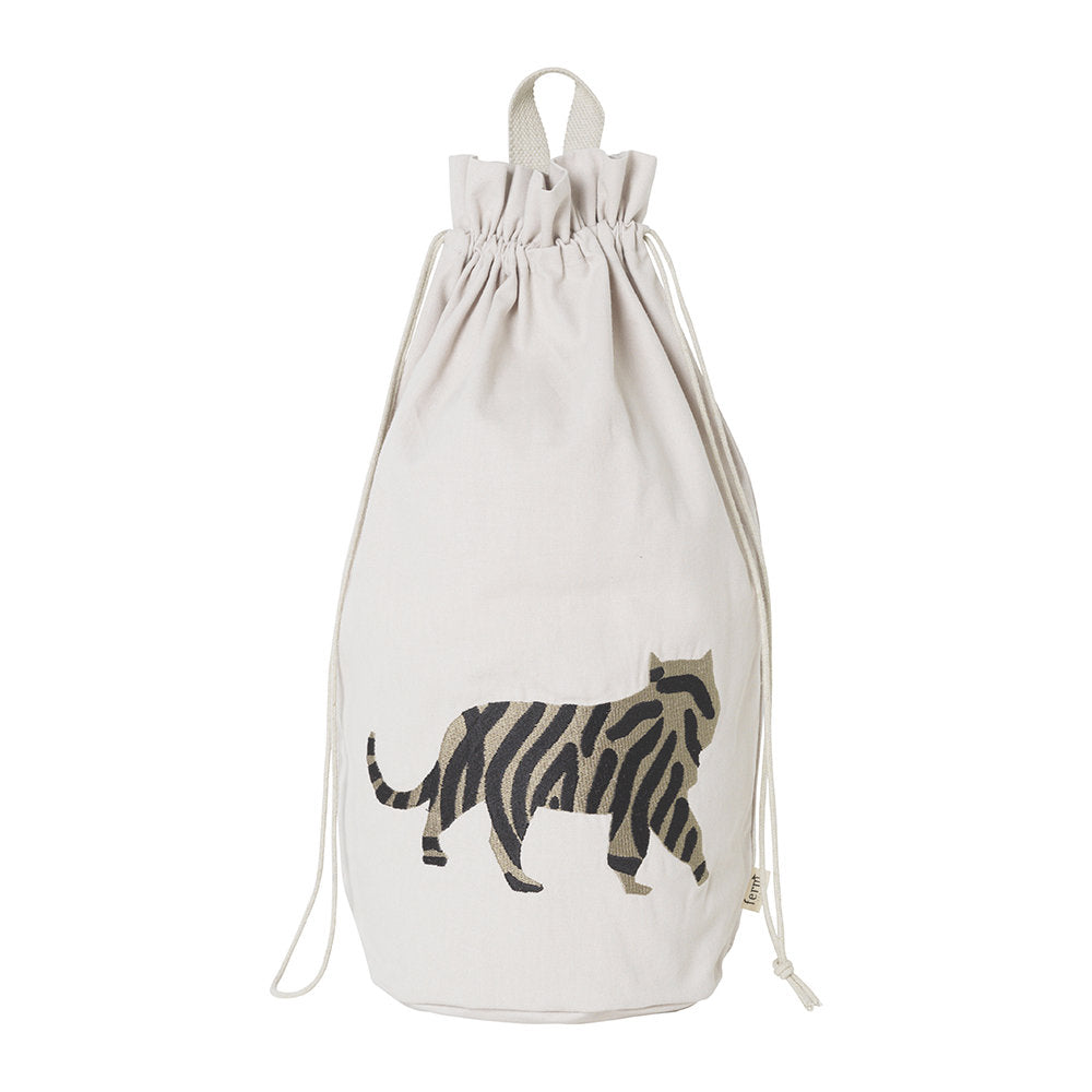 Ferm Living Safari Storage Bag - Tiger