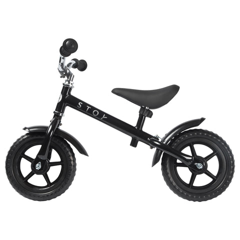 "STOY 10"" Balance Bike - All Black"