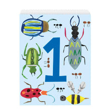 Paper Party Bags 8 Pack - Bug 1st Birthday