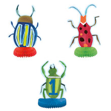 Centrepiece Decorations 3 Pack - Bug 1st Birthday