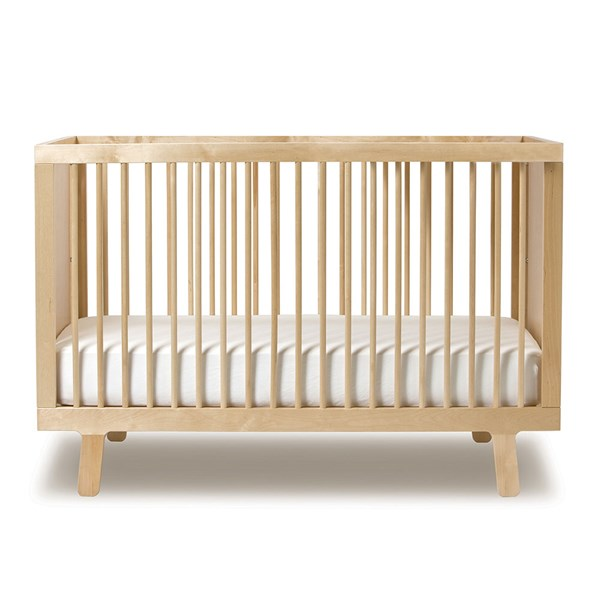 Oeuf NYC Sparrow Cot Bed - Birch