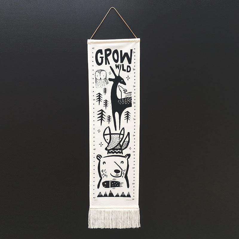 Wee Gallery Growth Chart - Woodland | Soren's House
