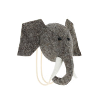 Fiona Walker Felt Animal Wall Hook - Elephant