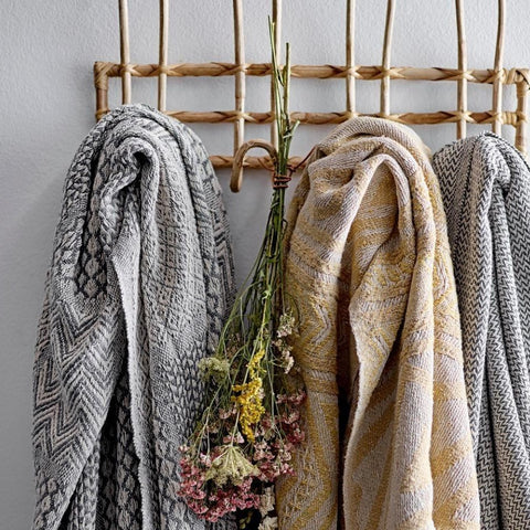 Bloomingville Sahin Natural Cane Coat Rack