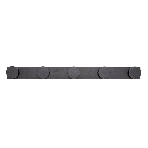 Bloomingville Wooden Coat Hooks - Black