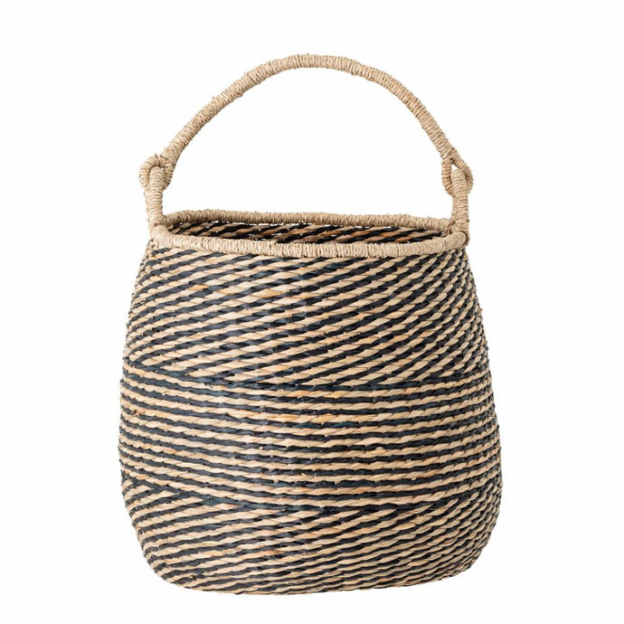 Bloomingville Black Seagrass Basket