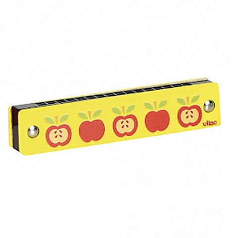 Vilac Wooden Harmonica - Apples