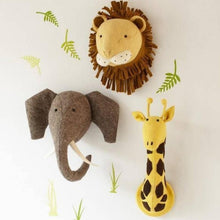 Fiona Walker Giraffe Felt Animal Wall Head - Large