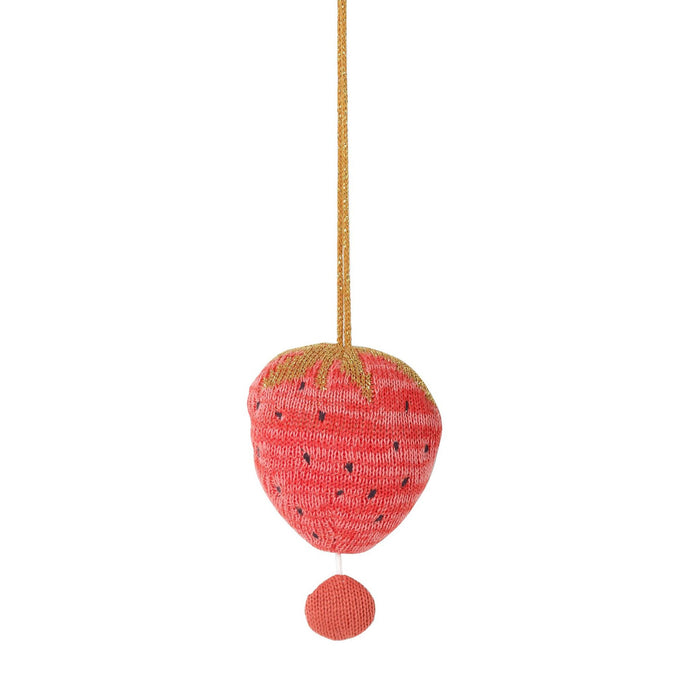 Ferm Living Fruiticana Music Mobile - Strawberry