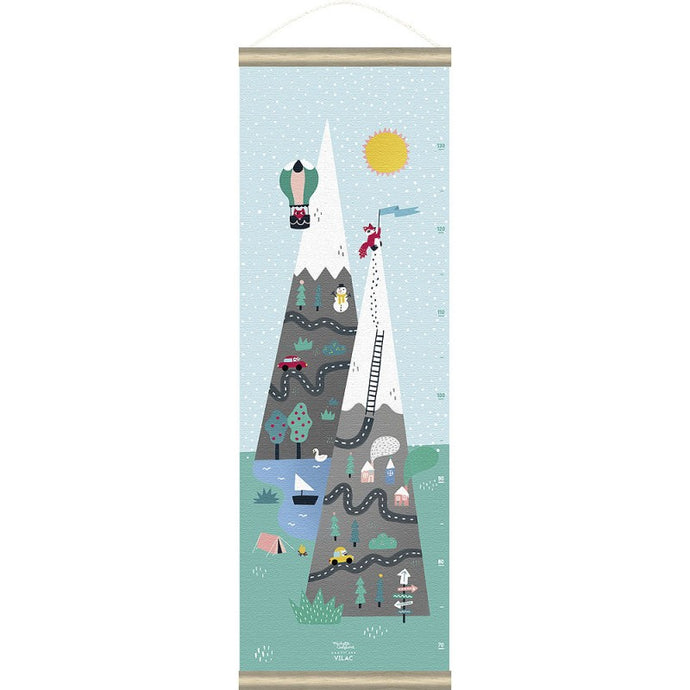 Vilac Mountain Growth Chart By Michelle Carlslund