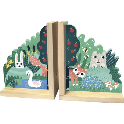 Vilac Wooden Animal Bookends By Michelle Carlslund