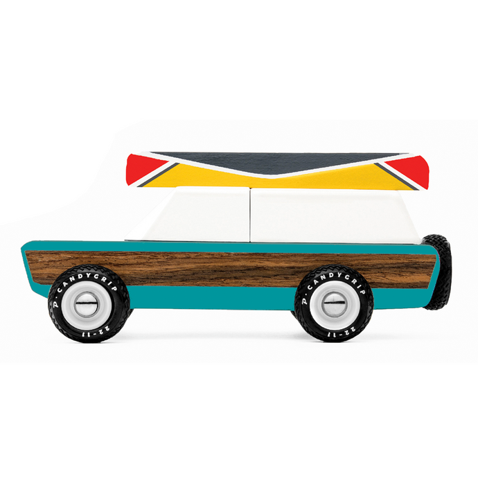 Candylab - 'Pioneer Aspen' Wooden Toy Car