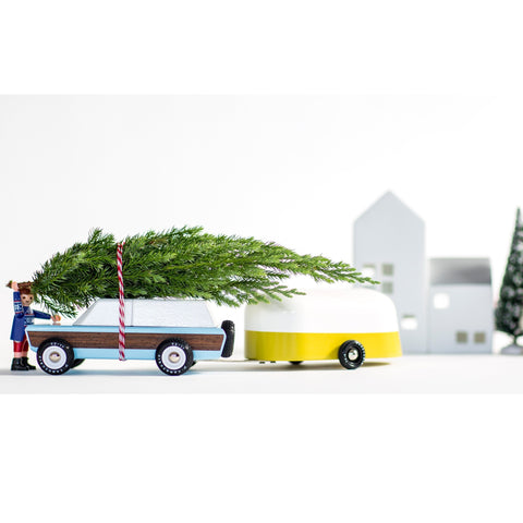 Candylab - Yellow Camper Wooden Toy