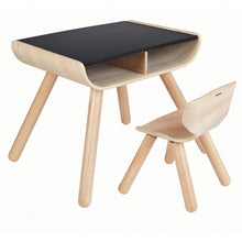 Plan Toys Children's Wooden Desk & Chair Set