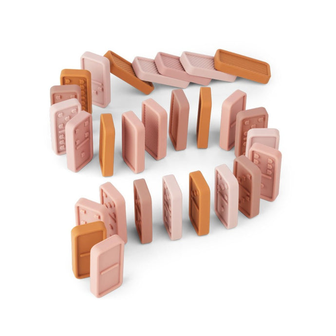 Liewood Dodo Silicone Domino Set - Rose Multi Mix