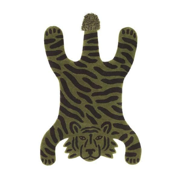 Ferm Living Safari Tufted Rug - Tiger
