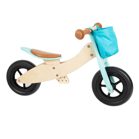 Legler Wooden Training Trike - 2-in-1 - Turquoise