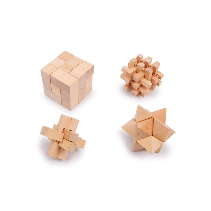Legler Wooden Puzzles - Set of 4
