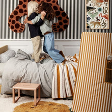 Ferm Living Play Tent - Mustard Thin Stripes