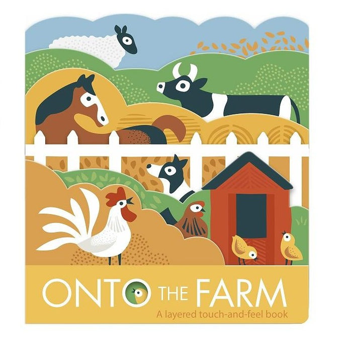 Onto The Farm - Children's Board Book