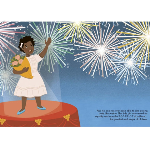 Aretha Franklin (Little People, Big Dreams) - Children's Hardback Book