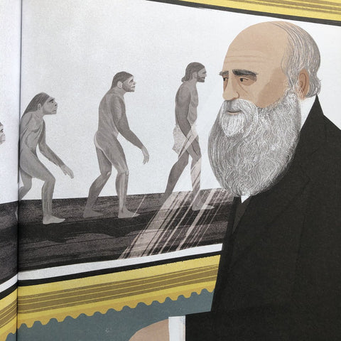 When Darwin Sailed the Sea - Children's Hardback Book
