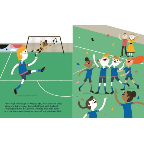 Megan Rapinoe (Little People, Big Dreams) - Children's Hardback Book