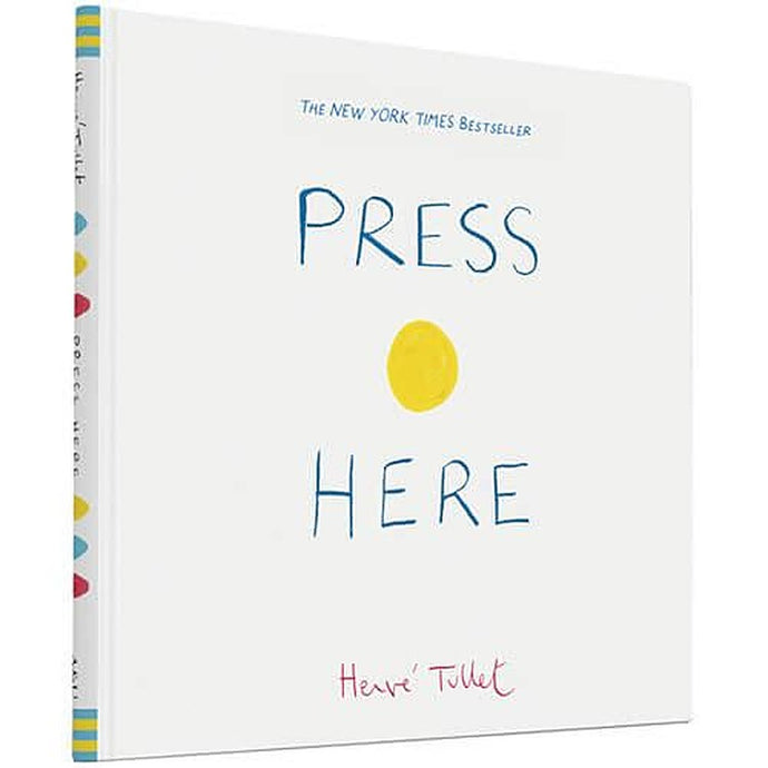 Press Here - Children's Hardback Book