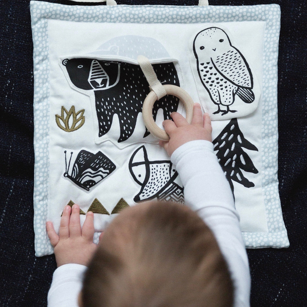 Wee Gallery Organic Baby Activity Mat - Woodland | Wee Gallery