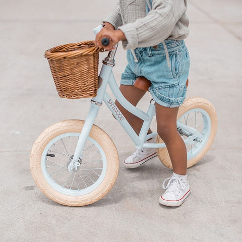 Banwood 'First Go!' Balance Bike - Sky Blue