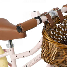 Banwood 'First Go!' Balance Bike & Basket - Bonton Pink