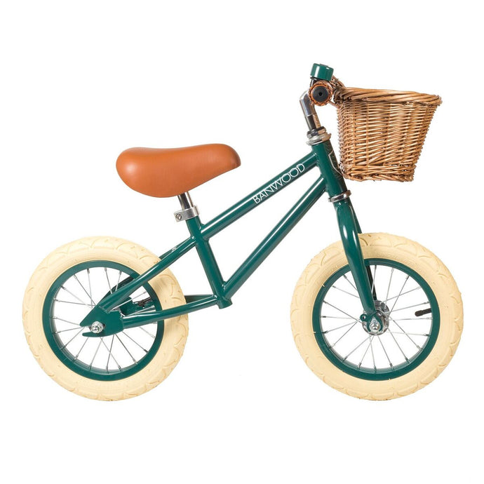 Banwood 'First Go!' Balance Bike - Dark Green