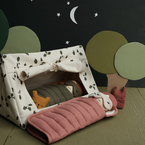 Fabelab Doll Sleeping Bag - Clay