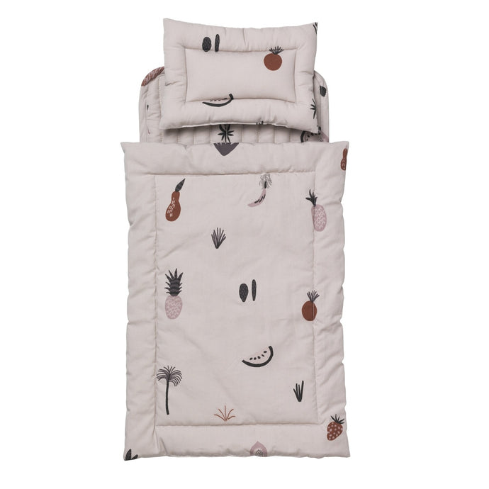 Ferm Living Fruiticana Doll Quilt Bedding Set