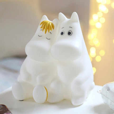 Moomin & Snorkmaiden Love Lamp (UK Plug) by House of Disaster
