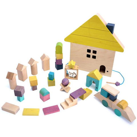 Kiko & GG Tsumiki - Building Blocks Wooden House