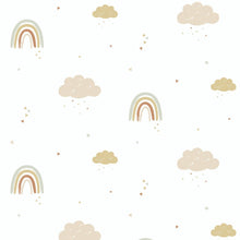 Hibou Home Wallpaper - Rainbows