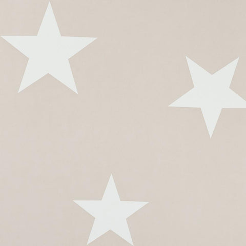 Hibou Home Wallpaper - Blush/White Stars