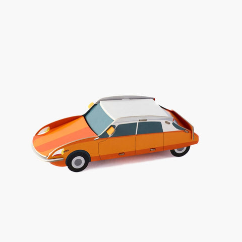 Studio Roof 3D Model - Cool Classic Car DS