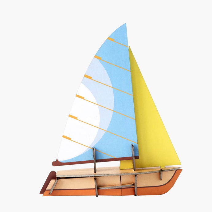 Studio Roof 3D Model - Cool Classic Boat Mousquetaire