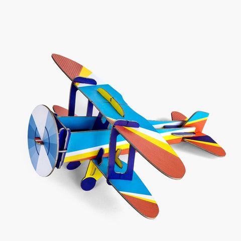 Studio Roof 3D Model - Cool Classic Biplane