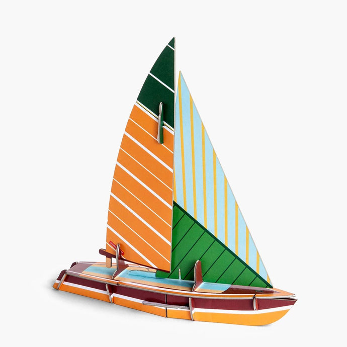 Studio Roof 3D Model - Cool Classic Sailboat