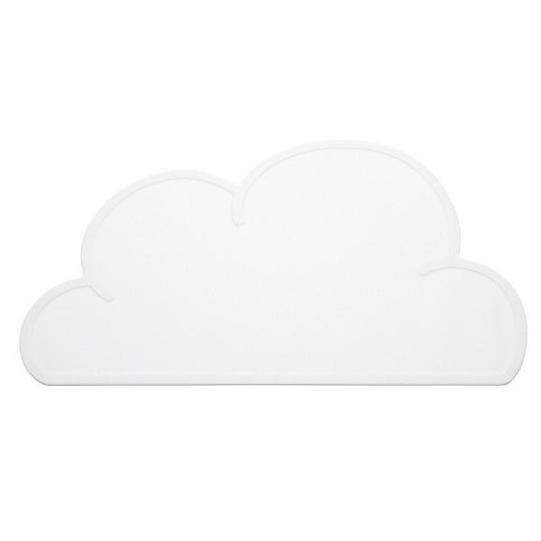 Baby & Children's Cloud Placemat by KG Design - White