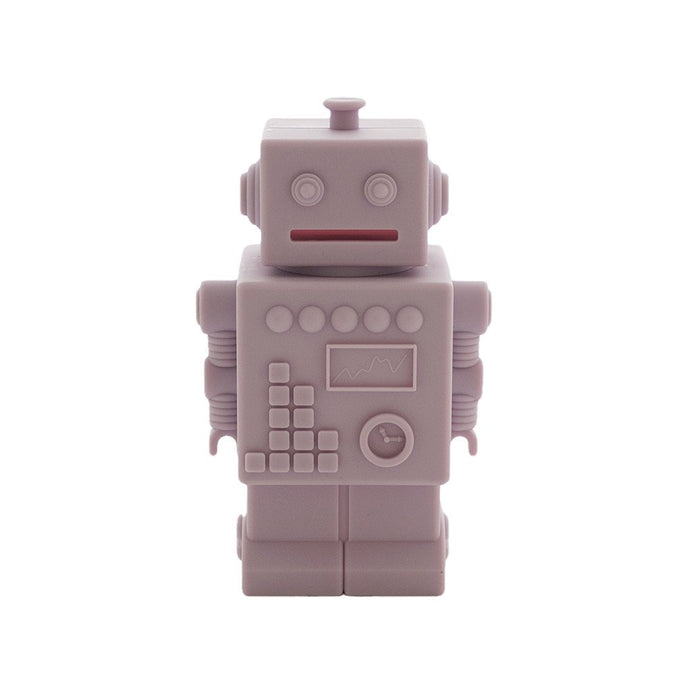 Robot Silicone Money Box by KG Design - Light Pink