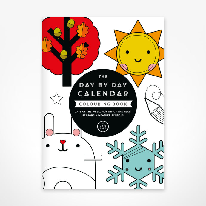 Calendar Colouring Book by The Jam Tart