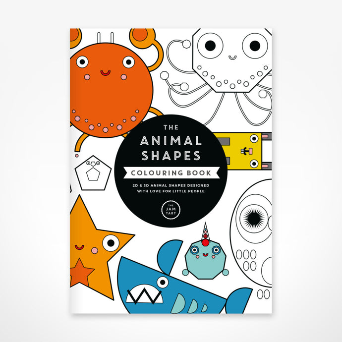 Shapes Colouring Book by The Jam Tart