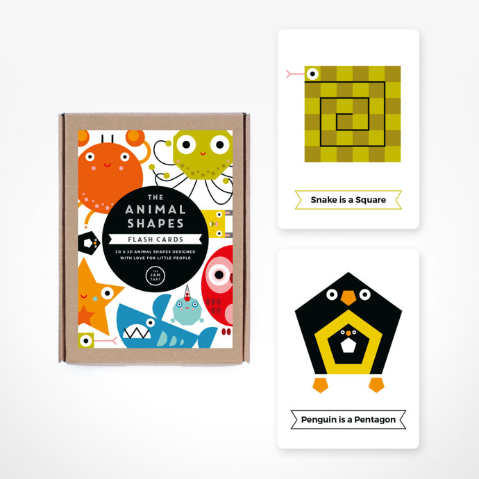 Shapes Flash Cards by The Jam Tart