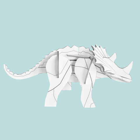 Studio Roof 3D Model - DIY Triceratops